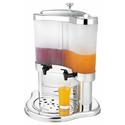 Диспенсер для сока, молока с матовым резервуаром V, л 2*5 фото, купить в Липецке | Uliss Trade
