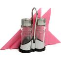 Набор для специй «Family» (соль, перец) + салфетница Luxstahl (нержавеющая сталь/стекло/пластик) фото, купить в Липецке | Uliss Trade