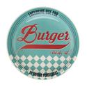 Тарелка для гамбургеров 26см, цвет голубой, Oxford фото, купить в Липецке | Uliss Trade