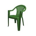 Кресло пластиковое Класс зеленое фото, купить в Липецке | Uliss Trade