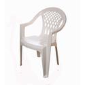 Кресло пластиковое Виктори белое фото, купить в Липецке | Uliss Trade