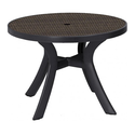 Стол пластиковый круглый Toscana 100 (арт. 0211204-4192) фото, купить в Липецке | Uliss Trade