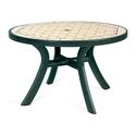 Стол пластиковый круглый Toscana 120 (арт. 0211205-2762) фото, купить в Липецке | Uliss Trade