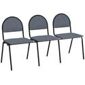 Секция стульев СМ8/1 фото, купить в Липецке | Uliss Trade