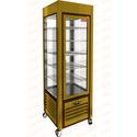 Витрина кондитерская вертикальная HICOLD VRC 350 PG фото, купить в Липецке | Uliss Trade