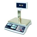 Торговые весы MR1-P с индикатором покупателя на стойке фото, купить в Липецке | Uliss Trade