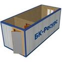 Блок-контейнер БК-02 ОТДЕЛКА ДВП, URSA 50 ММ фото, купить в Липецке | Uliss Trade