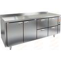 Стол холодильный без агрегата HICOLD SN 1122/TN P фото, купить в Липецке | Uliss Trade