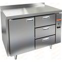 Стол холодильный без агрегата HICOLD SN 13/TN P фото, купить в Липецке | Uliss Trade