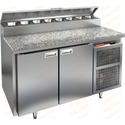 Стол холодильный для пиццы HICOLD PZ2-11/GN камень фото, купить в Липецке | Uliss Trade