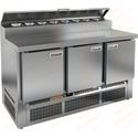 Стол холодильный для пиццы HICOLD PZE2-111/GN фото, купить в Липецке | Uliss Trade
