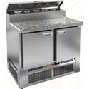 Стол холодильный для пиццы HICOLD PZE2-11/GN камень фото, купить в Липецке | Uliss Trade