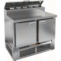Стол холодильный для пиццы HICOLD PZE2-11/GN фото, купить в Липецке | Uliss Trade