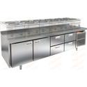 Стол морозильный под тепловое оборудование HICOLD GN 1122/BT LT фото, купить в Липецке | Uliss Trade