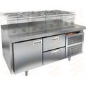 Стол морозильный под тепловое оборудование HICOLD GN 12/BT LT фото, купить в Липецке | Uliss Trade