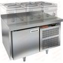 Стол морозильный под тепловое оборудование HICOLD GN 1/BT LT фото, купить в Липецке | Uliss Trade