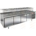 Стол морозильный под тепловое оборудование HICOLD SN 1111/BT LT фото, купить в Липецке | Uliss Trade