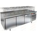 Стол морозильный под тепловое оборудование HICOLD SN 111/BT LT фото, купить в Липецке | Uliss Trade