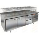 Стол морозильный под тепловое оборудование HICOLD SN 112/BT LT фото, купить в Липецке | Uliss Trade