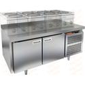 Стол морозильный под тепловое оборудование HICOLD SN 11/BT LT фото, купить в Липецке | Uliss Trade