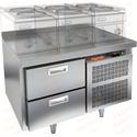 Стол морозильный под тепловое оборудование HICOLD SN 2/BT LT фото, купить в Липецке | Uliss Trade