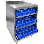 Стол для посудомоечных корзин с бортом HICOLD НБМКБ-6/6Б фото, купить в Липецке | Uliss Trade