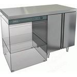 Стол закрытый под посудомоечную машину с полкой HICOLD НБМСЗКП-12/7Л фото, купить в Липецке | Uliss Trade