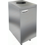 Стол закрытый с отверстием для сбора отходов HICOLD НБМДСО-4/6 фото, купить в Липецке | Uliss Trade