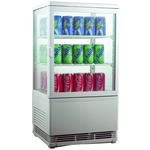 Холодильный шкаф витринного типа GASTRORAG RT-58W фото, купить в Липецке | Uliss Trade