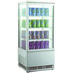 Холодильный шкаф витринного типа GASTRORAG RT-78W фото, купить в Липецке | Uliss Trade
