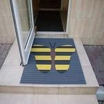 Грязезащитные покрытия из алюминиевого профиля с логотипом фото, купить в Липецке | Uliss Trade