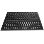 Грязезащитный входной коврик из ПВХ-модулей Scrub-10 чёрный фото, купить в Липецке | Uliss Trade