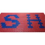 Модульное грязезащитное покрытие Scrub c рисунком (логотипом) фото, купить в Липецке | Uliss Trade