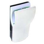 Рукосушитель электрический Dualflow+, белый ABS-пластик фото, купить в Липецке | Uliss Trade