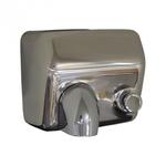 Рукосушитель электрический STARFLOW полированная с кнопкой фото, купить в Липецке | Uliss Trade