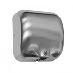 Рукосушитель электрический TURBO JET, матовая нержавеющая сталь фото, купить в Липецке | Uliss Trade