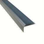 Угловая алюминиевая противоскользящая накладка на ступени с резиновой вставкой арт.5790139 фото, купить в Липецке | Uliss Trade