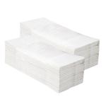 Бумажные полотенца отдельные белые Z-TOP 2860 (20 пачек х 143 листа) фото, купить в Липецке | Uliss Trade