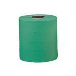 Бумажные полотенца в рулонах 1-слойные зеленые (2 рулона х 400 м.) фото, купить в Липецке | Uliss Trade