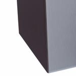 Корзина для мусора с конусным отверстием металлическая MERIDA STELLA ECONOMY (матовая) 27 л фото, купить в Липецке | Uliss Trade