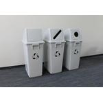 Корзина для сортировки отходов (60 л), пластиковая, без крышки фото, купить в Липецке | Uliss Trade