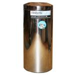 Корзина-пепельница напольная полированная самогасящаяся (30 л) фото, купить в Липецке | Uliss Trade
