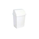 Корзина пластиковая с поворотной крышкой 9 л фото, купить в Липецке | Uliss Trade