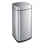 Корзина сенсорная, объем 35 л, матовая сталь фото, купить в Липецке | Uliss Trade