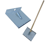 Лопата-движок для снега однобортная с накладкой фото, купить в Липецке | Uliss Trade