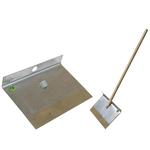Лопата-движок однобортная с широкой накладкой фото, купить в Липецке | Uliss Trade