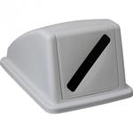 Пластиковая крышка от корзины для сортировки отходов арт.KJS705 (для бумаги) фото, купить в Липецке | Uliss Trade