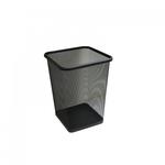 Сетчатая стальная корзина для бумаги 10 л (черная) фото, купить в Липецке | Uliss Trade