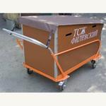 Тележка для сбора/вывоза мусора фото, купить в Липецке | Uliss Trade
