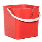 Ведро для мытья пола красное фото, купить в Липецке | Uliss Trade